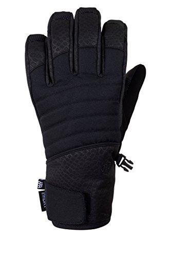 686 Women's infiLoft Majesty Glove | Waterproof Ski and Snowboard Glove | Black - L