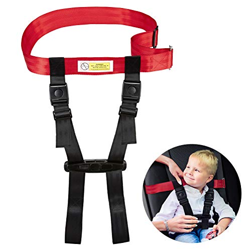 Child Safety Harness Airplane Travel Clip Strap, Travel Harness Safety System Approved by FAA, Airplane Safety Travel Harness for Baby, Toddlers & Kids by Farochy (Image #8)