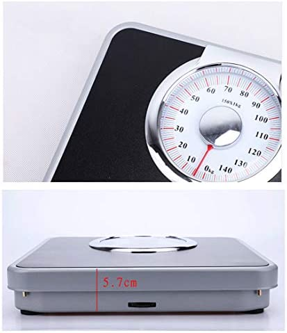 ZZZGY Bathroom Scale, Mechanical Scales For Body Weight, Oversized Dial Scale, Measures Weight For Multiple Users