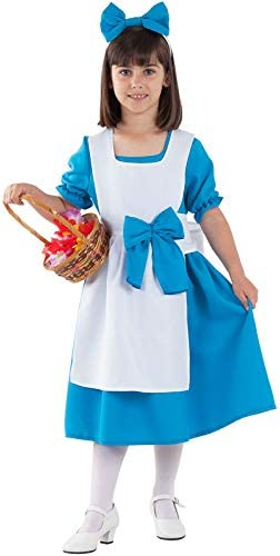 DISBACANAL Disfraz Alicia en el País de Las Maravillas niña - -, 8 ...