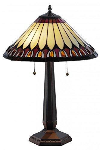 Meyda Tiffany 138579 Tuscaloosa Table Lamp, 24.5