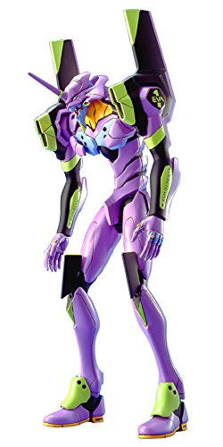 - Bandai Hobby #1 Model HG EVA-01 Test Type Neon Genesis Evangelion Action Figure (Limited Edition)