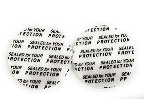 (SanDaveVA 38mm Pressure Sensitive Qty 200 PS Foam Cap Liners Tamper Seal Cap Liner Sealed for your Protection)