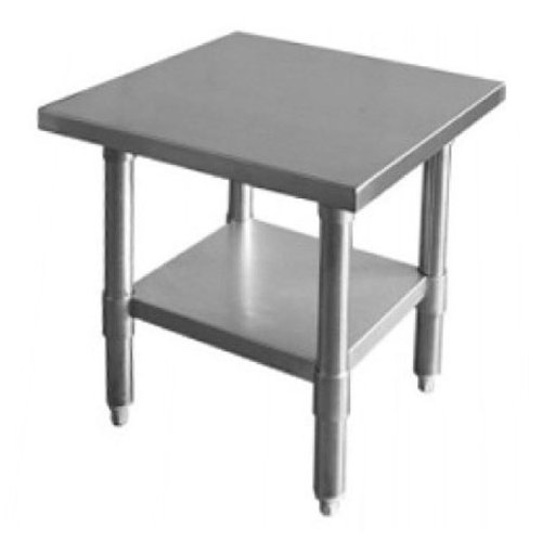 X Work Table Stainless Steel Food Prep Worktable Restaurant - Stainless steel table 18 x 24