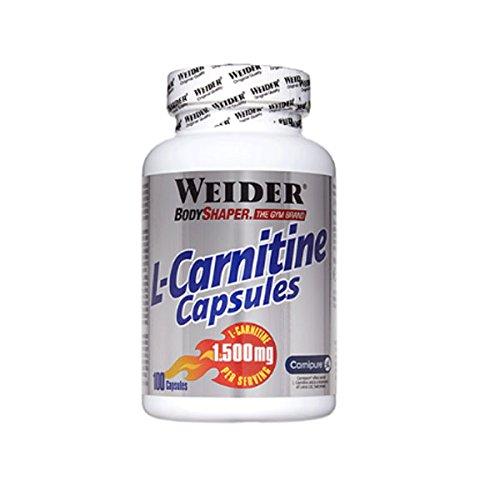 Weider L-Carnitine Capsules - 100 caps.: Amazon.es: Alimentación y bebidas