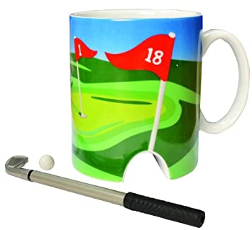 LONGRIDGE - Taza con Juego de Mini Golf Integrado: Amazon.es ...