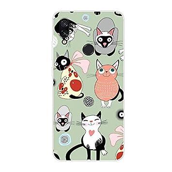 Aksuo Funda For Xiaomi Redmi Note 7 , TPU Anti-Rasguño Anti-Golpes Cover Protectora Transparente Claro TPU Caso Bumper Slim Silicona Case para ...