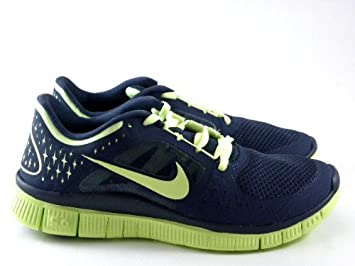 brand new 04529 8a18b Image Unavailable. Image not available for. Colour  Nike Free Run 3 +  Thunder Blue Lime Green ...