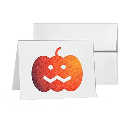 Pumpkin Halloween Happy, Blank Card Invitation Pack, 15 cards at 4x6, with White Envelopes, Item 125297]()