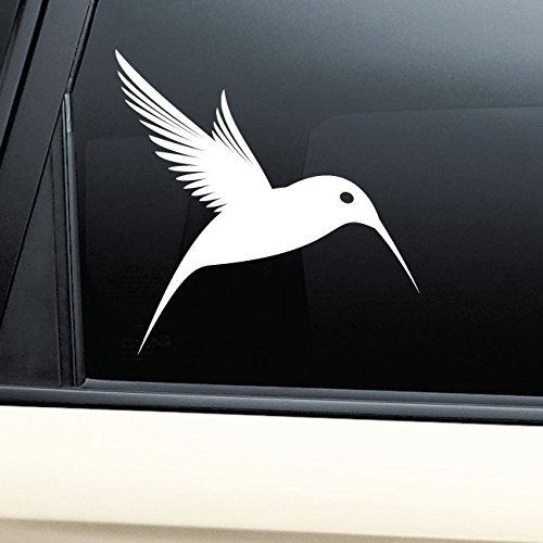 Price comparison product image Hummingbird Vinyl Decal Laptop Car Truck Bumper Window Sticker