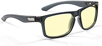 Gunnar Optiks Intercept Computer gaming glasses - block blue light, Anti-glare and minimize digital eye strain - Perform better, target objects on screen easier, prevent headaches, sleep better, reduce eye fatigue
