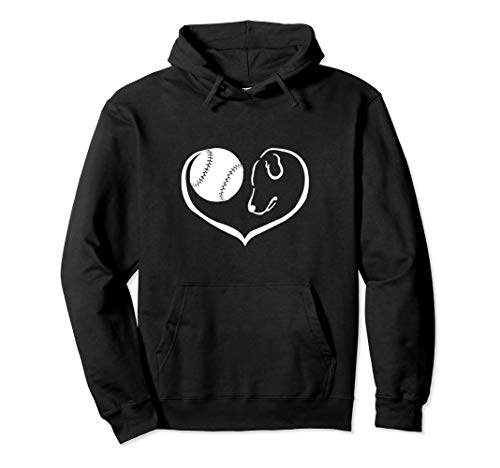 Easily Distracted By Baseball And Dogs Pullover Hoodie
