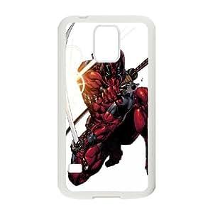 Samsung Galaxy S5 Cell Phone Case White Superhero Captain America, Spider Man, Iron Man, Wolverine, ant man, Green Arrow, Batman, Joker Logo 105 LSO7724825