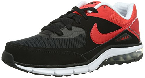 Ginnastica mtllc Rebel Slvr Nike Uomo schwarz Max black Nero Scarpe Air Da Crmsn lt wht OxqwCF