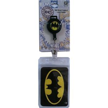 Retractable Lanyard with Charm Comics Originals Batman Retractable Lanyard