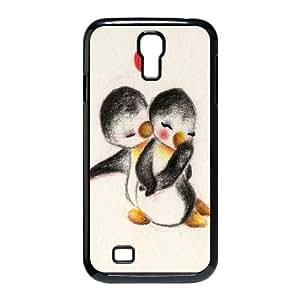 Hjqi - Custom Penguin Phone Case, Penguin Customized Case for SamSung Galaxy S4 I9500