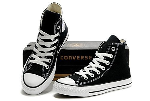Converse Chuck Taylor All Star Classic High Top Sneakers - Black US Men 7/US Women 9 by Converse (Image #7)