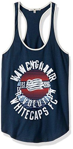 MLS New England Revolution Women's Women's Ringer Tank Top, Large, Non/Sun