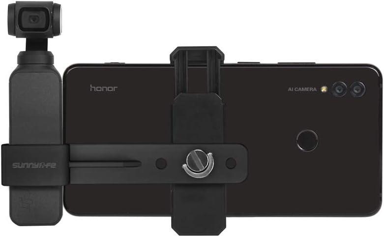 PENIVO Soporte de extensi/ón para smartphone compatible con DJI OSMO Pocket Handheld Gimbal Holder Fixed Stand Accessories