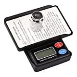 Black Box Digital Jewelry, coin, diet, lab Pocket Scale 500g by Weighmax