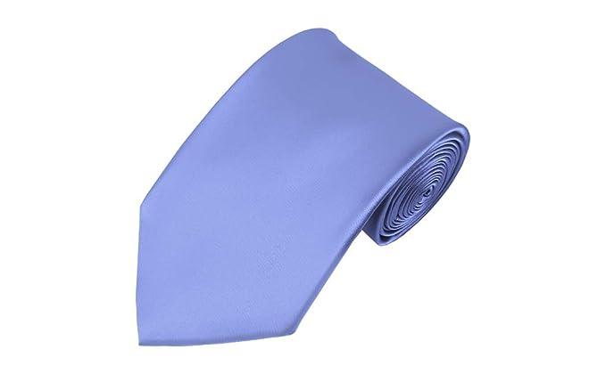 Solid Steel Blue - Corbata larga para hombre: Amazon.es: Ropa y ...