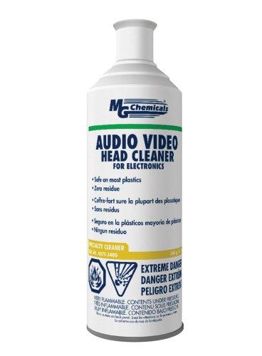 MG Chemicals Audio/Video Head Liquid Cleaner, 340g (12 Oz) Aerosol Can