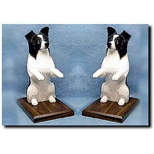 Michael Park Border Collie Bookends Black