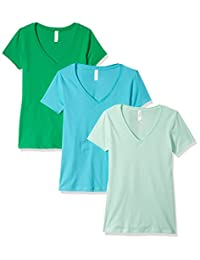 Clementine Women's Ideal V-Neck Tee (Pack of 3)