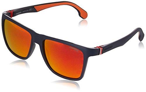 Carrera Men's 5047/s Square Sunglasses, Matte Blue, 56 mm