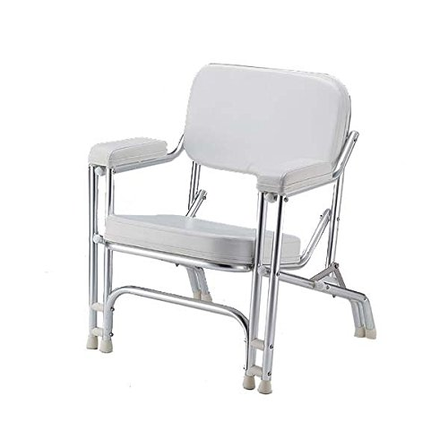 Padded Deck Chair Stainless Frame BC-26SS