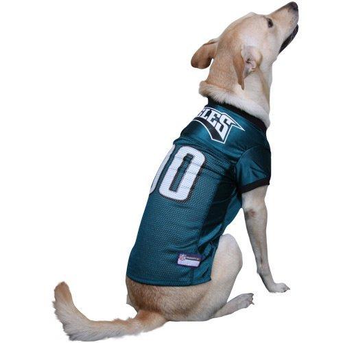 Pets First PHILADELPHIA EAGLES Dog Jersey Licensed NFL (XS)