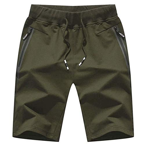 Drawstring Stretch Shorts - STICKON Mens 7