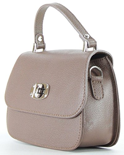 Histoiredaccessoires - Woman Leather Bag - Dark Taupe Sa144923gv-leandro