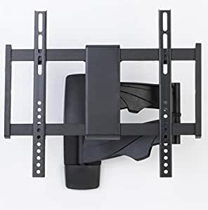 Displays2go LMTHAR2647 26 to 47 Inches TV Wall Mount Flat Panel LCD Bracket, Black Metal