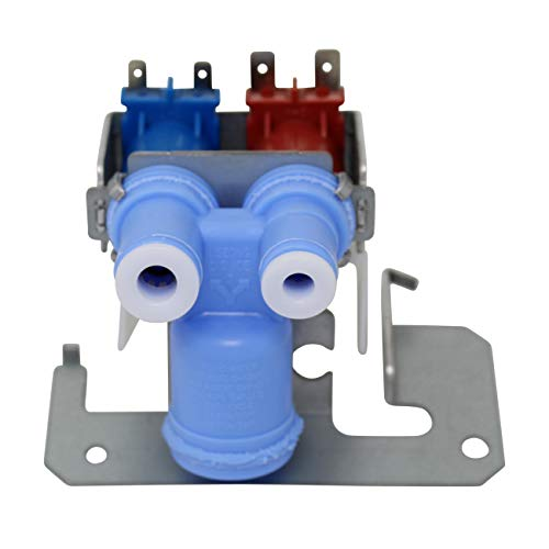 Dual Solenoid Valve - Appliance Pros WR57X10051 Replacement Ice Maker Double Solenoid Water Valve