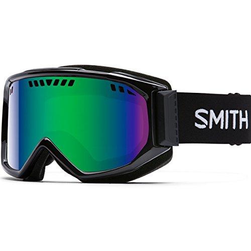 Smith Optics Adult Scope Snow Goggles Black Frame/Green Sol-X - Goggles Lens Mirror