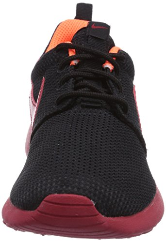 NIKE Black Bambino hyper Corsa Crimson Scarpe da Run Roshe Nero Gym Red rqxX40Orw