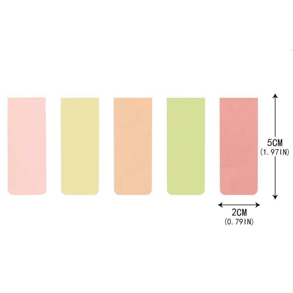 15 pezzi segnalibri magnetici colorati segnalibri magnetici per studenti cancelleria lettura accessori