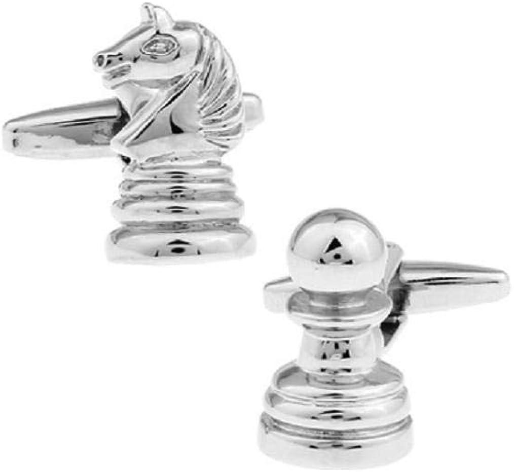 Chess Cufflinks S1371 Chess Queen Cufflink Pair Queen Cuff Link Chess Piece Cuff Links Lifetime Guarantee