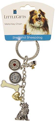 LittleGifts Shetland Sheepdog V3 (Sheepdog Dog Keychain)