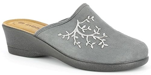 Donna Grigio Inblu Invernali Pantofole Da Kl Art Ciabatte 62 xn7vI7qw8B