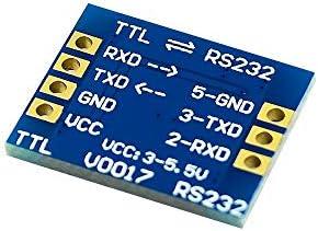 Landa tianrui DIY Electronic kit RS232 SP3232 TTL-zu-RS232-Modul RS232 auf TTL-Bürsten-Line-Serial Port-Modul (Size : Single Channel 20)