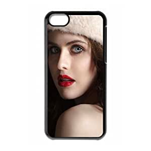 Celebrities Cute Alexandra Daddario iPhone 5c Cell Phone Case Black DIY GIFT pp001_8034545