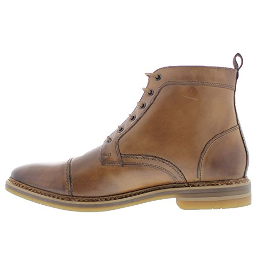 Base London Mens Hockney Leather Boots Tan