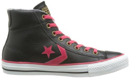Cuir Nero Mid Sneaker noir Converse Sp Donna Ev BEq66Z