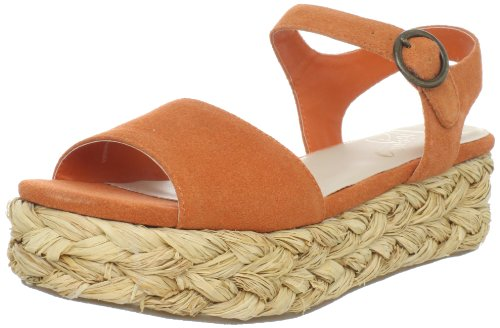Vogue Women's Even Angel Sandal,Orange,6 M - Shop Vogue Online