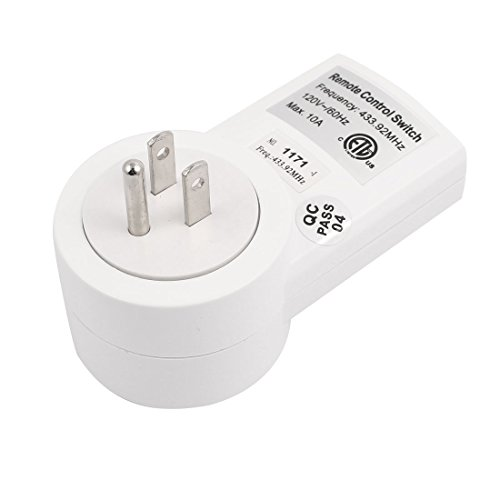 Amazon.com: eDealMax 120V EE.UU. TS-832-1 interruptor de Control remoto inalámbrico Toma de corriente Para Los aparatos electrodomésticos Blanco: Home Audio ...