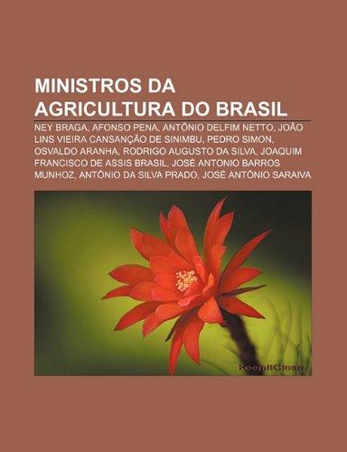 Ministros da Agricultura do Brasil: Ney Braga, Afonso Pena, Antônio Delfim Netto, João Lins Vieira Cansanção de Sinimbu, Pedro Simon