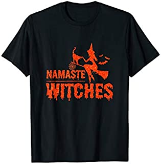 [Featured] Yoga - Namaste Witches - Halloween Yoga s in ALL styles   Size S - 5XL