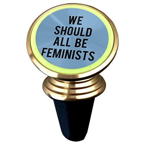 Happy Index We Should All Be Feminist 360° Rotation Air Vent Magnetic Car Mount Cell Phone Holder Compatible for iPhone Xs/Xs Max/XR/X / 8/7 / Plus Samsung Galaxy S9 / S8 and More